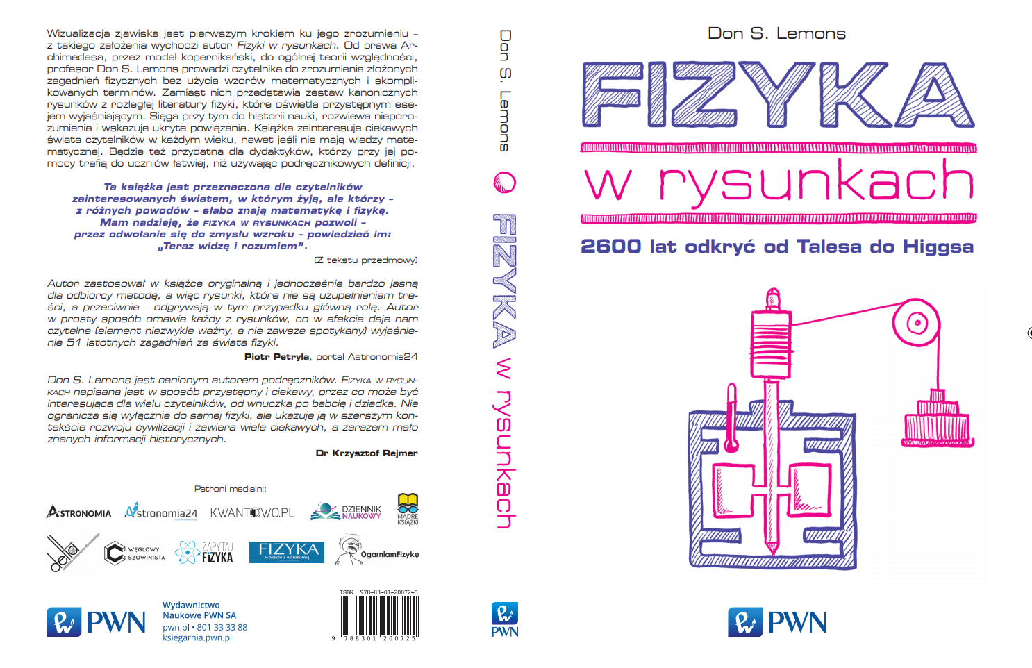 Fizyka w rysunkach – Patronat OgarniamFizykę.pl