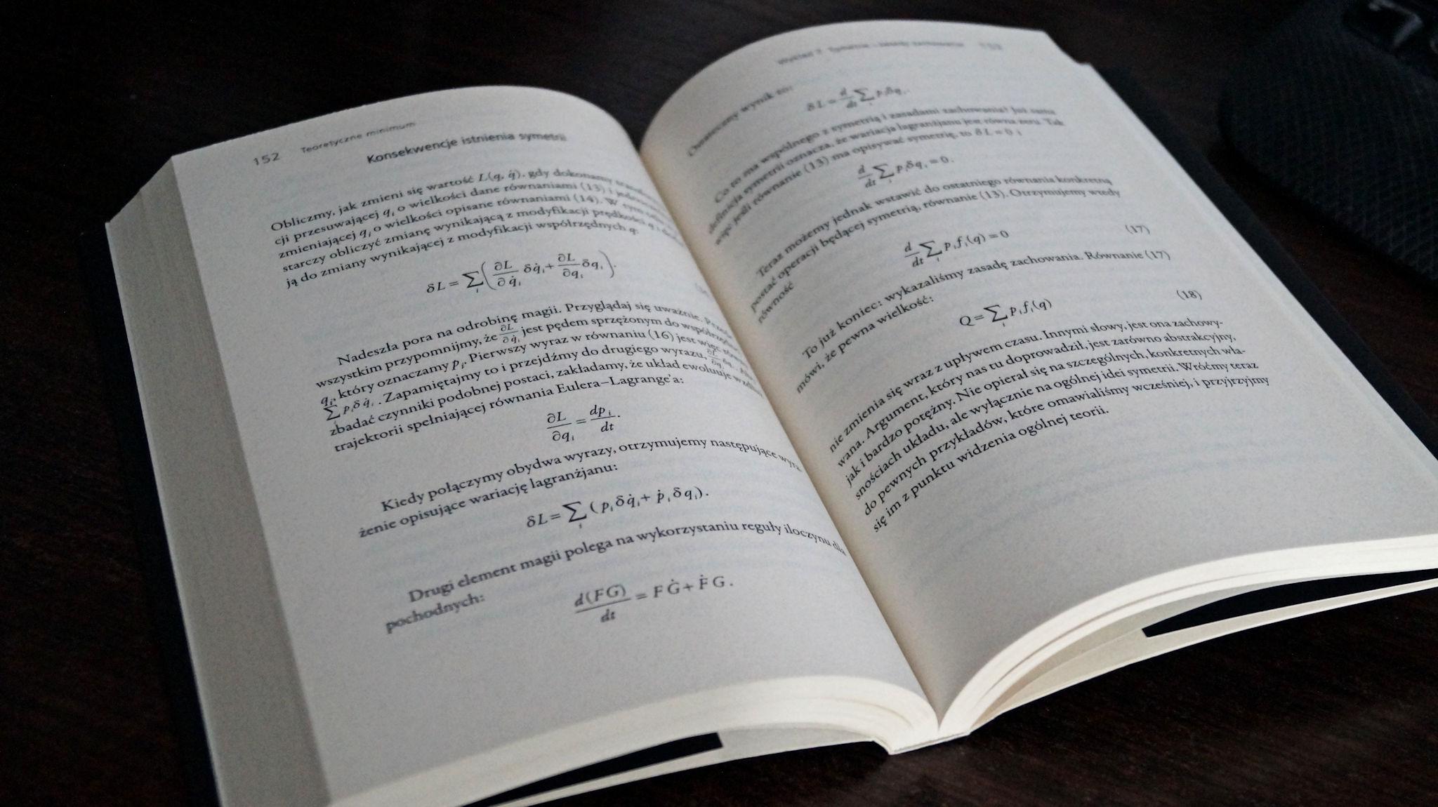 Teoretyczne minimum. Co musisz wiedzieć, żeby zacząć zajmować się fizyką